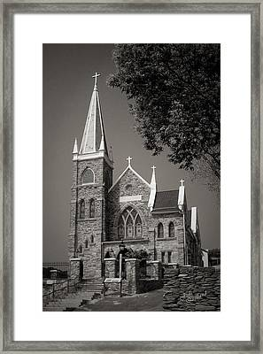 St. Peter's Catholic Chuch Framed Print by Judi Quelland