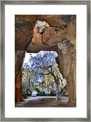St. Solomon's Catacombs. Framed Print by Andy Za