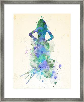 St. Tropez Framed Print by JW Digital Art