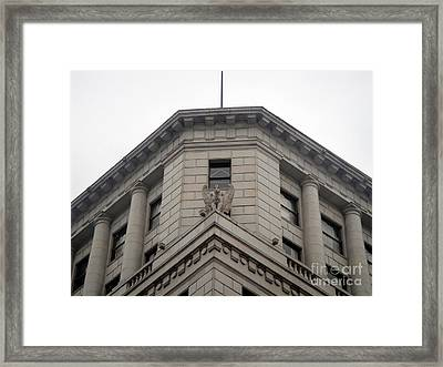 Stability - 2 Framed Print by Sofia Goldberg