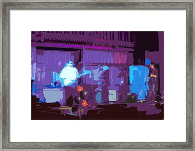 Stage Show 2 Framed Print by Peter  McIntosh