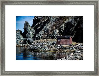 Staged Framed Print by Lisa Killins