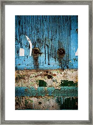 Stained And Weary Framed Print by Michelle Sheppard
