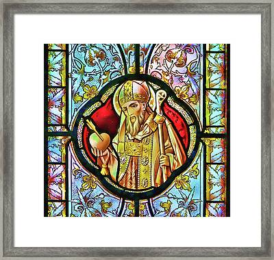 Stained Framed Print by Joetta West