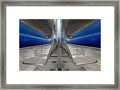 Stainless Steel Framed Print by Martin Fleckenstein