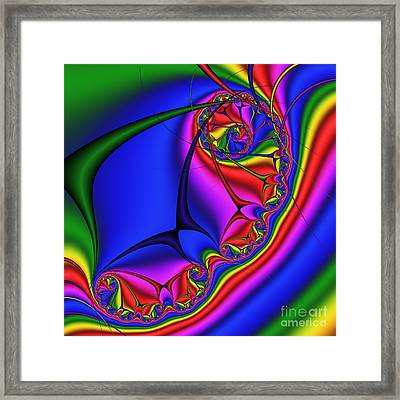 Staircase 201 Framed Print by Rolf Bertram