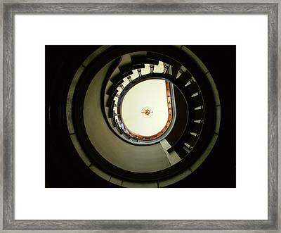 Staircase At Riverview Framed Print by Utopia Concepts