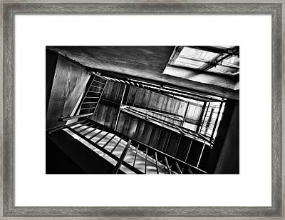 Staircase Framed Print by Nailia Schwarz