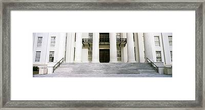 Staircase Of A Government Building Framed Print by Panoramic Images