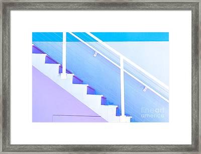 Stairway Framed Print by Juli Scalzi