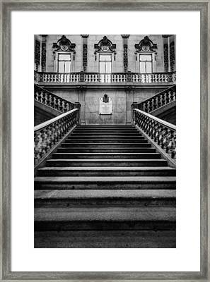 Stairway Framed Print by Marco Oliveira