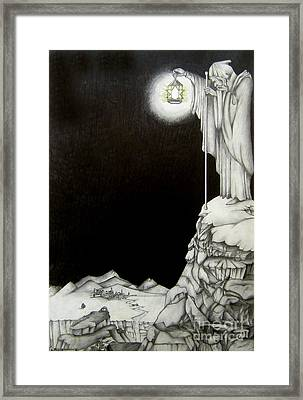 Stairway To Heaven Framed Print by Patrice Torrillo