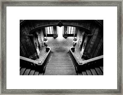 Stairway V Framed Print by Marco Oliveira