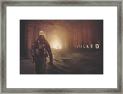 Stalked Framed Print by Brennan Gallegos