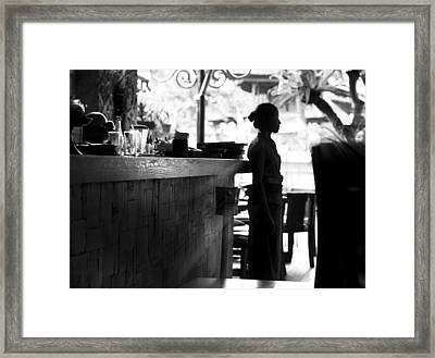 Stand By Framed Print by Cho Me