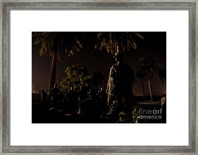 Stand By Framed Print by Liesl Marelli
