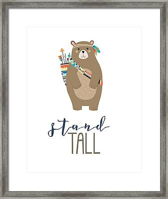 Stand Tall Framed Print by Jaime Friedman