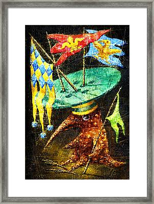 Standard-bearer Framed Print by Lolita Bronzini