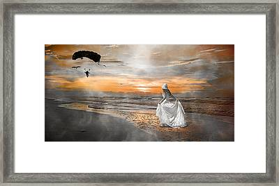 Standing By My Word Framed Print by Betsy C Knapp
