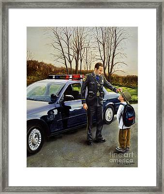 Standing Tall Framed Print by Paul Walsh