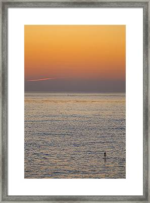 Standing Water Framed Print by Peter Tellone