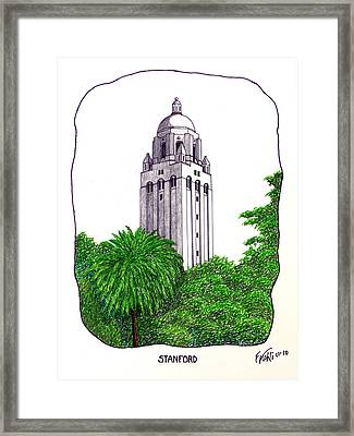 Stanford Framed Print by Frederic Kohli