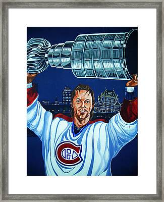Stanley Cup - Champion Framed Print by Juergen Weiss