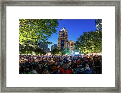 Stanley Cup Champions Market Square Framed Print by Emmanuel Panagiotakis