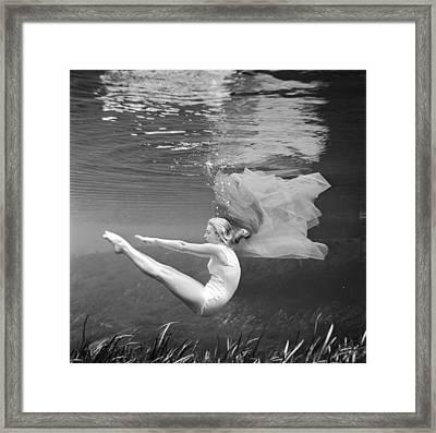 Stanley's Ballet Framed Print by Bruce Mozert