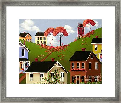 Staplehill  Framed Print by Catherine Holman