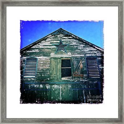 Star Barn I Framed Print by Kevyn Bashore