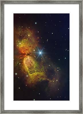Star Creation Framed Print by Paul Van Scott