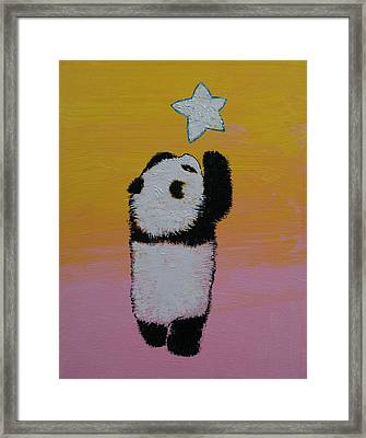 Star Framed Print by Michael Creese
