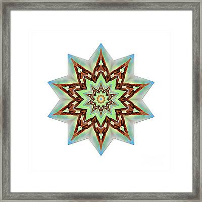 Star Of Strength By Kaye Menner Framed Print by Kaye Menner