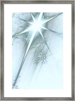 Star Of Wonder Framed Print by Ellen Henneke