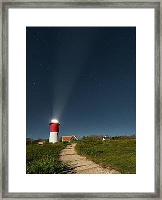 Star Search Framed Print by Bill Wakeley