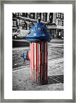 Star Spangled Banner Framed Print by John Farnan