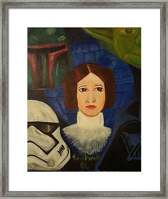 Star Wars Framed Print by Doloris Boutwell