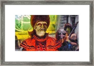 Star Wars Durosians Leader - Pa Framed Print by Leonardo Digenio