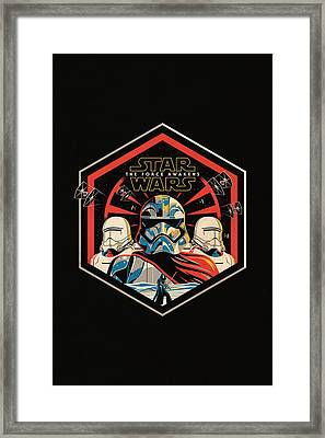 Star Wars - The Force Awakens Framed Print by Fht