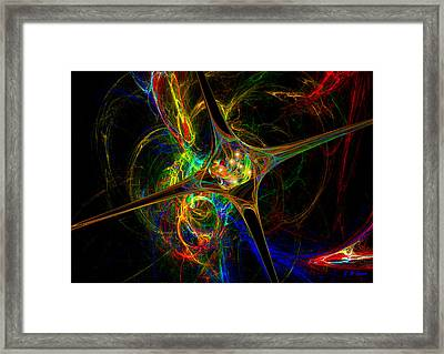 Star Womb Framed Print by Michael Durst