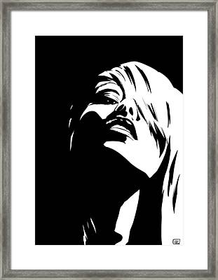 Stare Framed Print by Giuseppe Cristiano