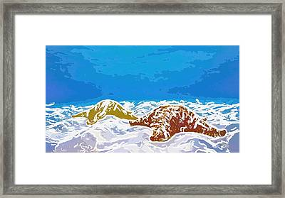 Starfish 1 Framed Print by Lanjee Chee