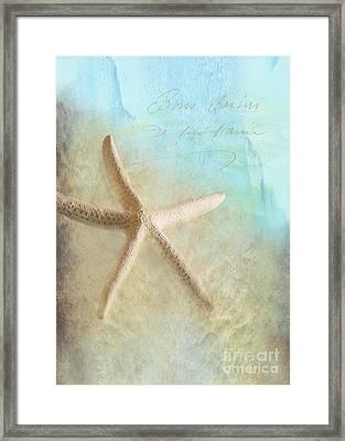 Starfish Framed Print by Betty LaRue