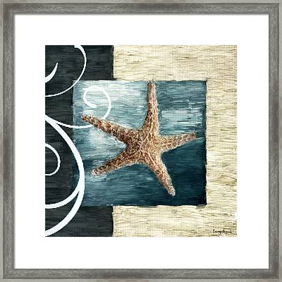 Starfish Spell Framed Print by Lourry Legarde