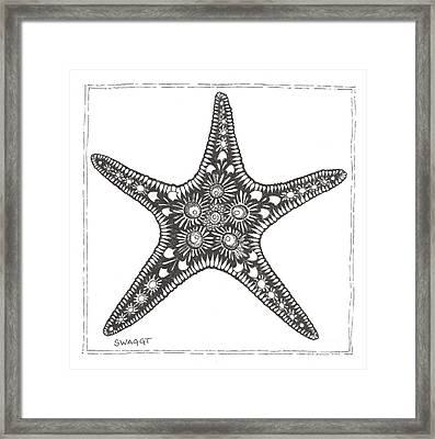 Starfish Framed Print by Stephanie Troxell