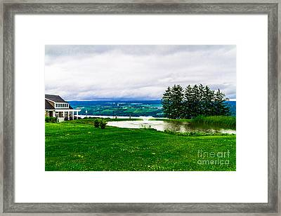 Starkey's Lookout Framed Print by William Norton