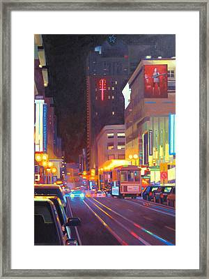 Starlight Framed Print by Aaron Memmott