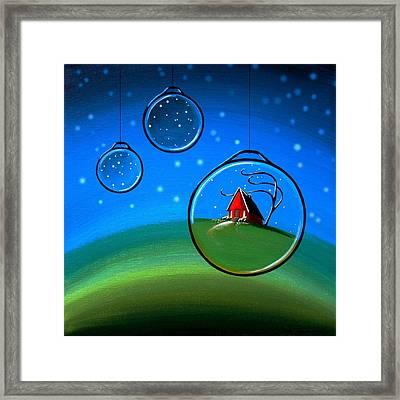 Starlight Framed Print by Cindy Thornton