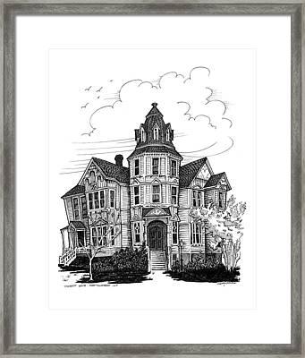 Starrett House Framed Print by Ernestine Grindal